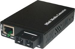 Mini Media Converter Ethernet to Fiber Optic